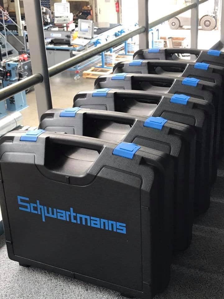 Sickenmaschine SMW 50.00 im Koffer