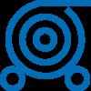 abrollen-icon-blau