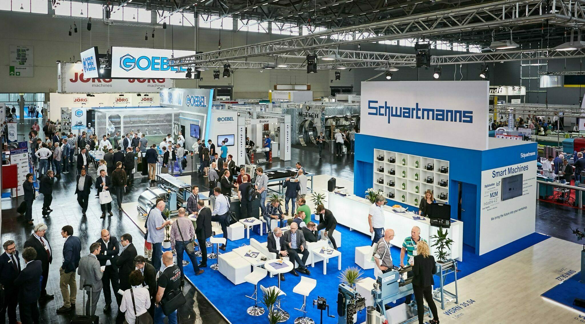 IEX Messe Schwartmanns Stand